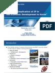 기술창조와특허_Sty_#07_Role and Implication of IP in the Economic Development in Korea