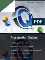 Qbule Corporate Presentation
