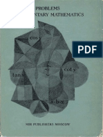 Lidsky Ovsyannikov Tuliakov Shabunin Problems in Elementary Mathematics Mir Publishers