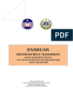 Panduan Ihya Ramadhan SR SM 2013