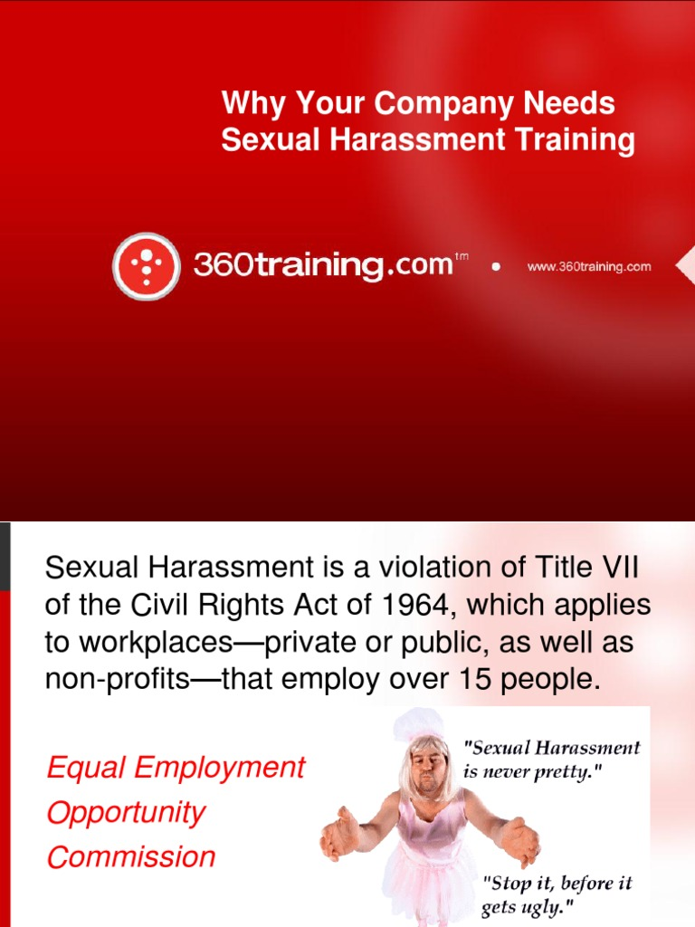 Sexual harassment law title vii violations