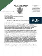 Document #12-127 BP-CVWF Application TOCV Comment letter 09/25/12