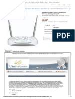 Modem Roteador Tp-Link Td-w8961nd Wireless 300mbps N Adsl2+ - R$ 99,98 No MercadoLivre