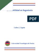Zapata - Confiabilidad en Ingenieria Es2011