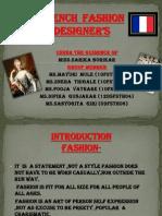 French Fashion Designer