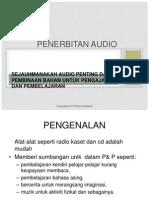 Penerbitan Audio