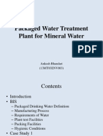 Packaged Water Treatment Plant for Mineral Water