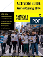 Winter Spring 2014 Activism Guide