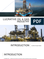 Lucrative Oil & Gas Industry Presentation