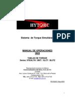 Manual mxt- español