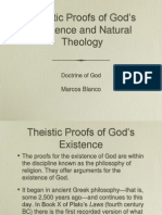 Theistic Proofs of God's Existence