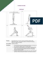 Yoga Postures Yogasanas