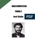 Stalin, Iosíf - Obras completas, Tomo III