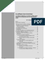 Les politiques macro-économique .Les politiques budgétaires et monétaires du Maroc depuis  cinquante ans et perspectives pour les vingt prochaines années