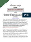 El Concepto de Habitus de Pierre Bourdieu y El Estudio de La.doc
