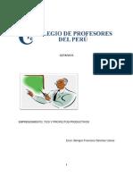 Emprendimiento, Tics y Proyectos Productivos