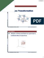 Stress Transformation Mechanics Of Solids