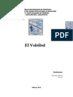 Reseña Histórica del Voleibo1
