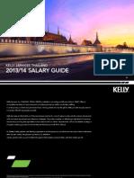 Thailand Salary eBook 2013-14