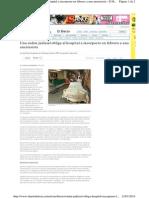 Noticia en Diario de Leon 13 de Enero de 2014