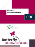 Manual Butterfly Monitoring