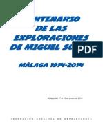 Centenario Miguel Such-Programa