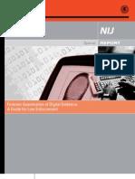 DOJ Digital Evidence Handling