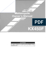 2006 KX450F Owners Manual
