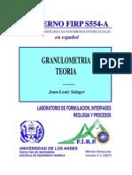Teoria Granulometria