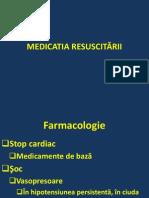 Medicatia Resuscitarii La Copil