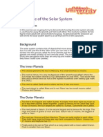 Solar System Scale