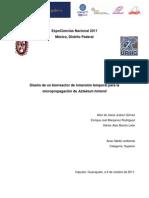 Diseño de un biorreactor de inmersión temporal EXPOCIENCIAS IPN