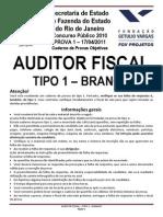 Prova 01 - Auditor Sefaz 17.04.11