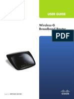 Linksys Wireless-g Broadband WRT54G2 V1
