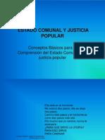 Estado Comunal y Justicia Popular