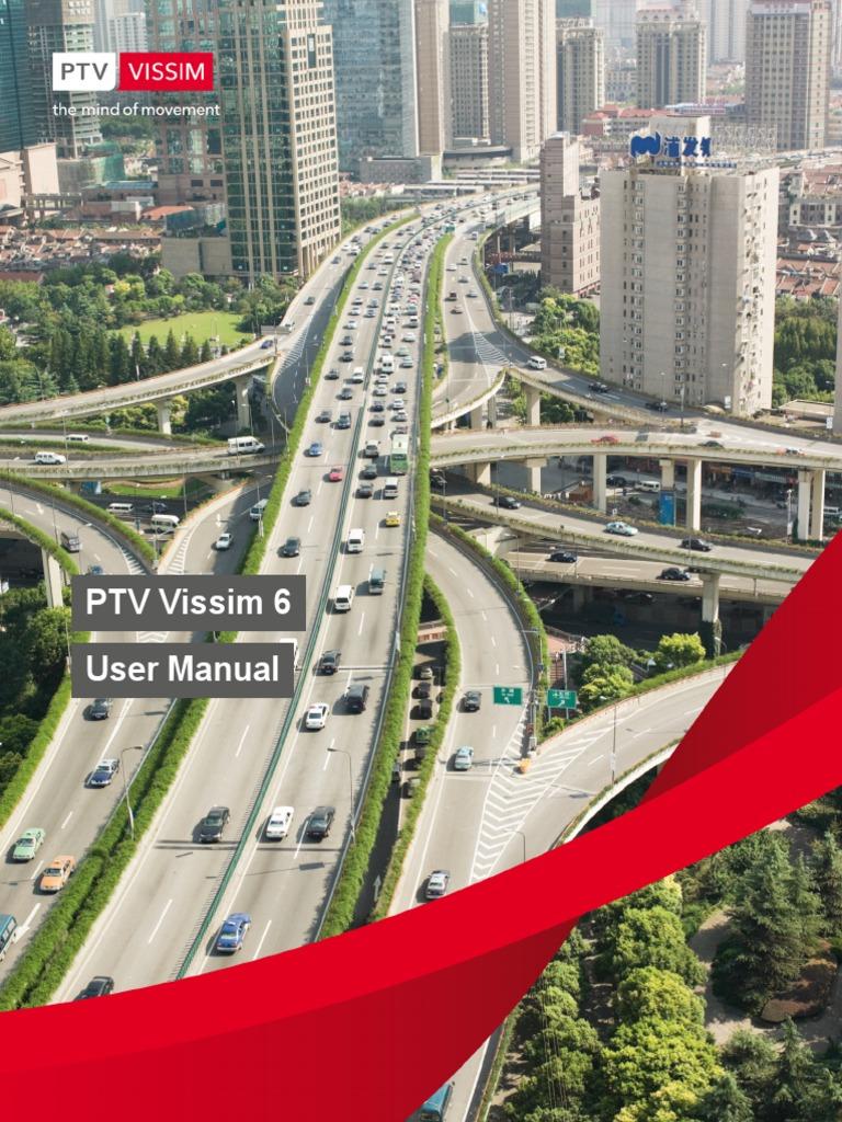 vissim 6 manual traffic simulation rh scribd com
