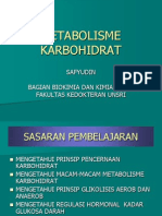 k.18 Metabolisme Karbohidrat