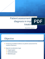 Pt Assessment and Diagnosis