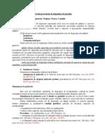 3.Actele Procesuale de Dispozitie Ale Partilor 2013