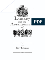 Belanger-Lunacy and Books