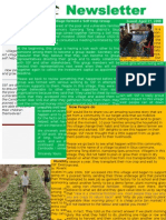 SSF Newsletter 2008 Volume 1