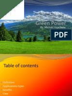Green+Power presentation