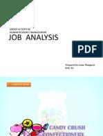 Job Analysis Activity