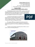 Company Profile Vinodrai Engineers P Ltd