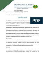 FARMACOLOGÍA I - Antibioticos