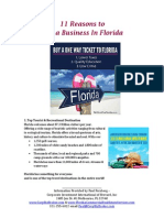 11 Reasons to Buy a Business in Florida