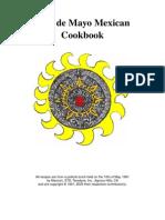 Diaz de Mayo Mexican Cookbook