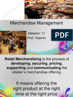 Session 11 Merchandise Management
