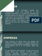 Conceptos y Clasificacion Empresas