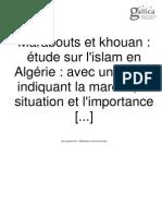 Marabouts Algerie